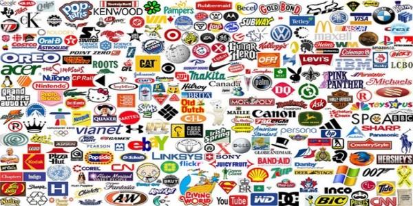 各大品牌logo設計圖示