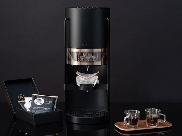 智能手沖咖啡機帶來冠軍咖啡大師的精準手沖數據,讓您在任何場域都可品嘗到冠軍手沖咖啡